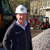 Director of SB Homes Stephen Byram at the new Empire Works development site in Slaithwaite.