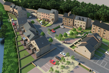 Empire Works - a development of new homes in Slaithwaite, Huddersfield, by house builder SB Homes
